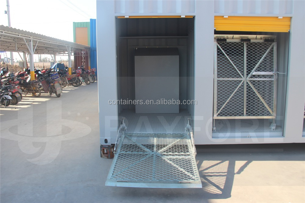 China storage container motorcycle 40ft shipping container