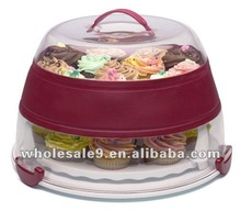 plastic collapsible Cupcake Carrier