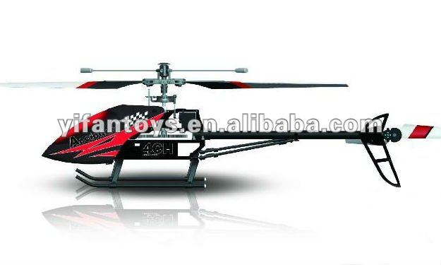 FX052 RC large 2.4G Single blade alloy 4CH helicopter with gyro