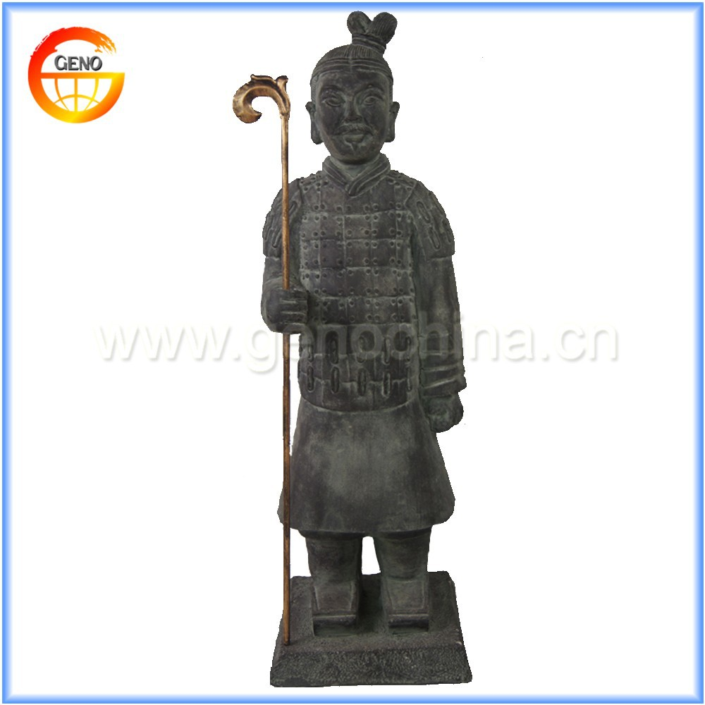 Chinese Traditional Terracotta Warrior for Garden Decor