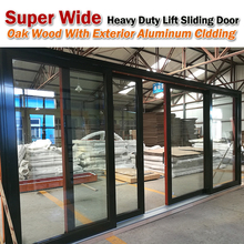 Hydraulic sliding door hotel automatic glass doors hospital