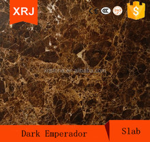 High quality Spain marble crystal light emperador slab