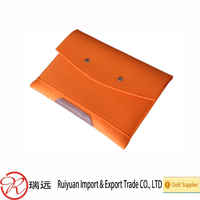Up to date high quality computer decoration felt laptop bag made in china