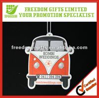 Car Shaped Promotional Paper Air Freshener