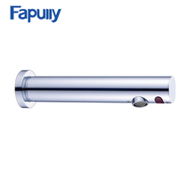 Fapully Temperature Health Electrical Automatic Tap Water Saving Bathroom wall mounted automatic sensor faucet