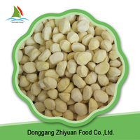 Chinese green food best inexpensive quick frozen chestnuts for sale