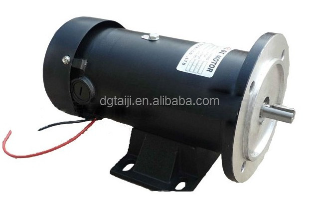 12V 24V / 200W 750W 1800rpm dc motor with reduce gearbox,gearhead,dc reducing speed