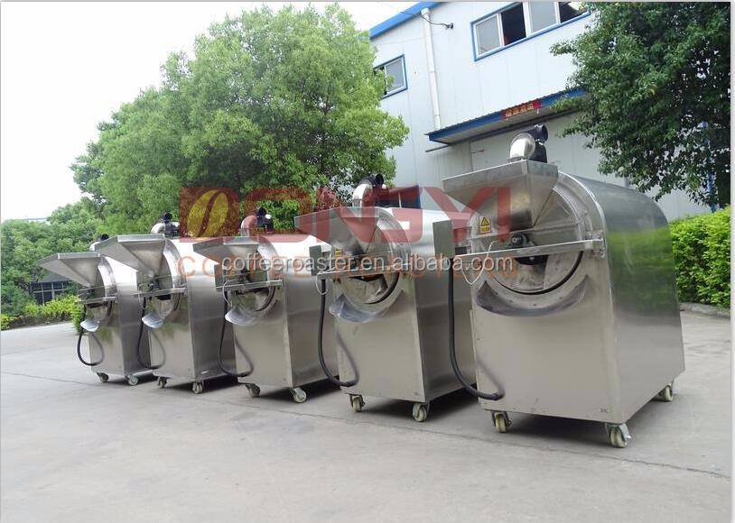 rotary roaster machine