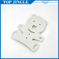 Durable sweet white bear shaped trivet