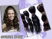 Indian deep wave stricking high quality remy virgin human hair extension