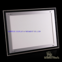 Low Price Super Thin LED Slim Frameless LED Light Box Plexiglass Acrylic LED Light Box ST-APFLA3 E01