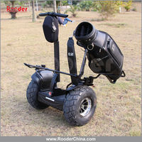 Rooder china electric chariot x2 Personal transporter w6+ two / 2 wheel self balancing off road electric scooter