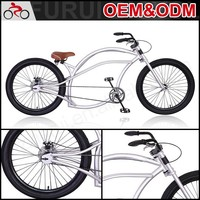Eco-friendly 24 inch steel chopper bicycles
