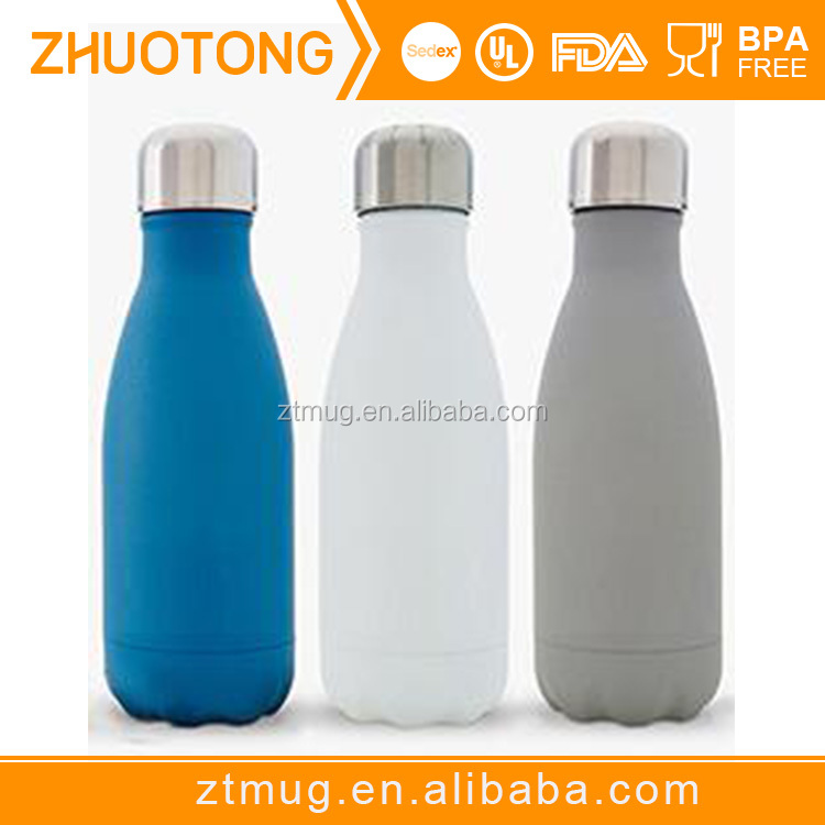 hot selling cola shape stainless vacuum flask/cola flask keeps drinks hot and cold