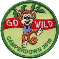 Go Wild Embroidered Patches Badges Emblems Crests in high quality and Competitive prices