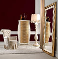 Luxury Golden Bedroom Standing Dressing Mirror