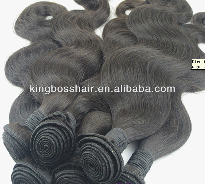 high quality low price 100g tange free natural black color 100% human hair remy hair weft tangle free