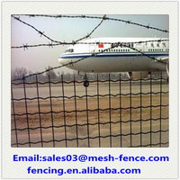 Standard Electric Galvanized Euro Fence for Airport