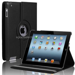 360 Degree Rotary Stand Colorful Leather Flip Case Cover for iPad Air 5