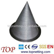 temporary cone type strainers