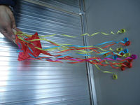 David Cressey throw streamers Magic tricks
