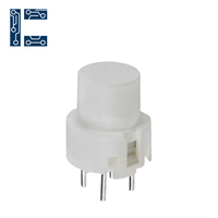 D6R00F1LFS Standard Push Button Through Hole Pushbutton Switch