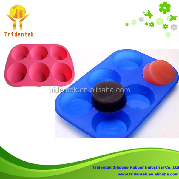 High Quality Baking Silicon Mould Handmade Silicone Soap Molds