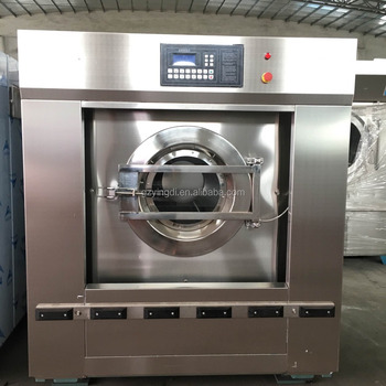 80 KG automatic laundry equipment washing cleaning machine for sale