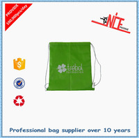 Waterproof drawstring bag/190T polyester drawstring bag