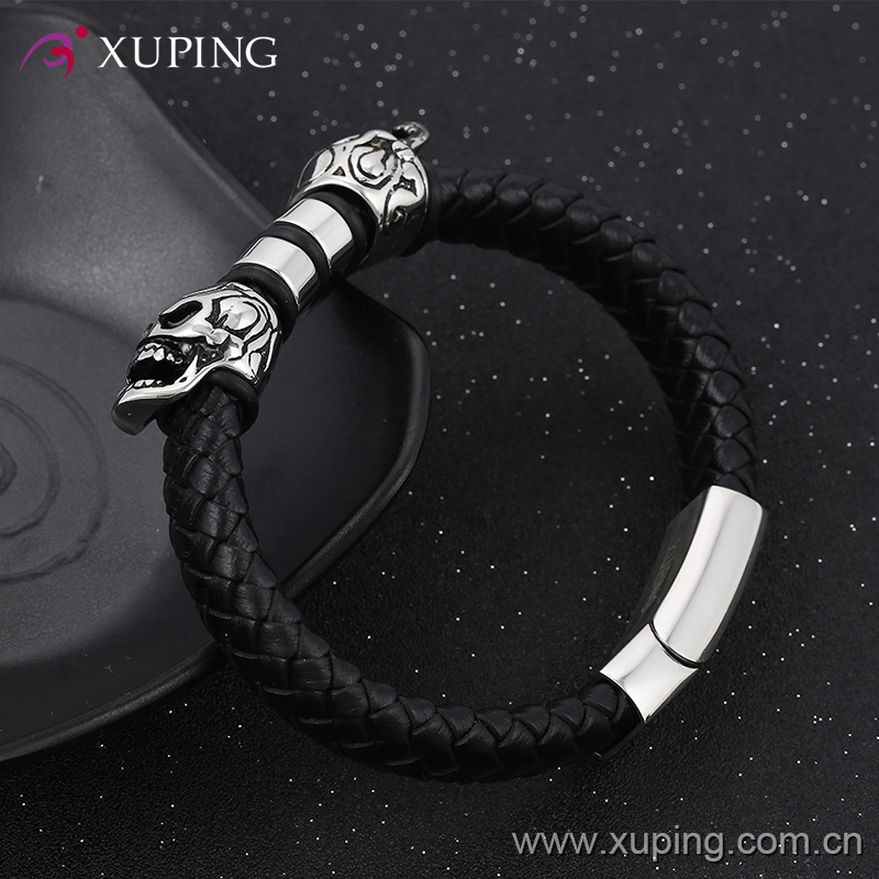 bangle30 xuping fashion stainless steel jewelry weave astrological bangle