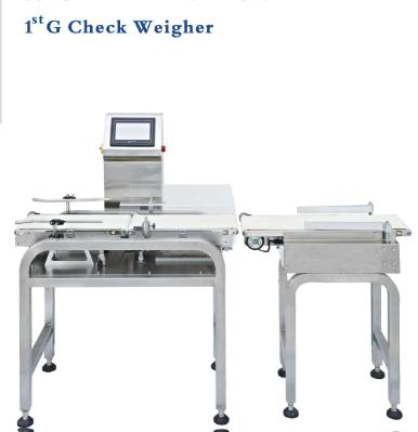 High Speed Automatic Conveyor Check Weigher and Metal Detector for food industry