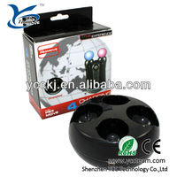 high quality remote controller charger for ps3 move charge stand with promotional price