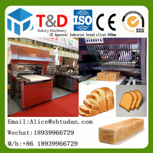 Regular bakery equipment CE Approval Large scale multi-function bread slicing machine 360-720pcs/h industrial bread slicers