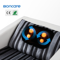 manual and auto operated play music massage chair Infrared physiotherapy massage pillows