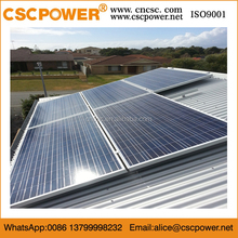 Polycrystalline silicon pv hybrid 5kw mini home solar power system project price