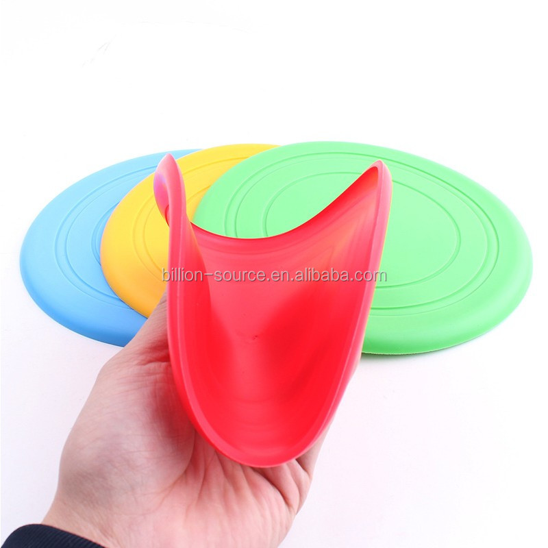 UFO outdoor sports toys Child safety Round shape frisbees