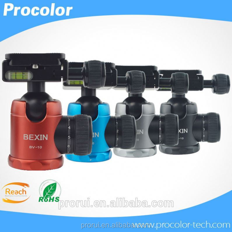 Innovative products Colorful DSLR Camera Mini ball head camera mount