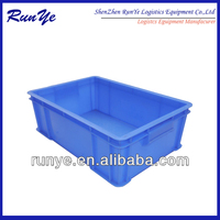 All styles of hdpe food grade plastic turnover container (Supplier)