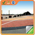 Cold mix colored asphalt paving on asphalt pavement with 1.0cm thickness