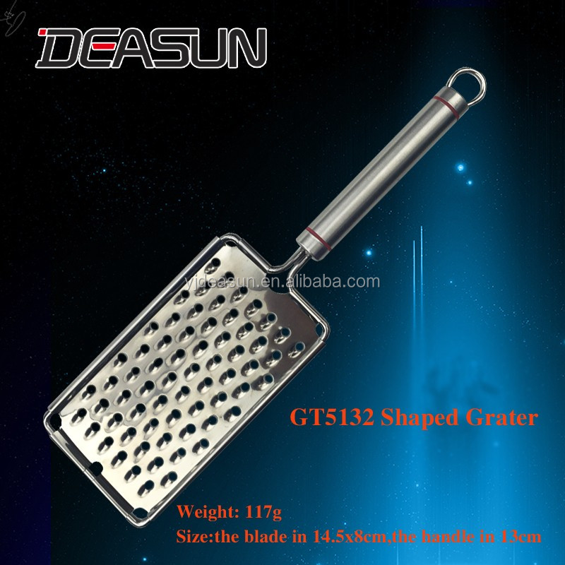 GT5132 Big Hole Shape Stainless Steel Multi-function Grater