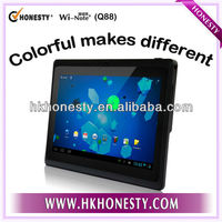 Hottest & Cheapest! 7 inch Android 4.1 A13 mid tablet pc manual Q88 with Wifi Camera