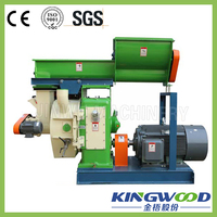 JIANGSU KINGWOOD Hot Sale Ring Die Wood Pellet Machine Wood Pellet Mill
