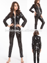 Wholesale Erotic wetlook Leather Late Lingerie Catsuit