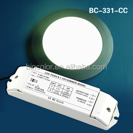 dc 12v - 48v 0-10v to constant current pwm led dimmer driver