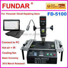 free shipping to southeast Asian hot air + IR BGA Rework Reballing Station Repair BGA Chip welding Machine FD-5100