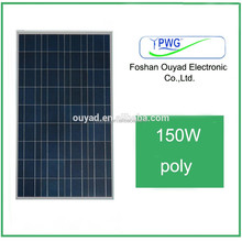100w 150w 200w 250w Poly solar panel in stock /High Efficeiency and Lowest Price Poly for 10000 watt system