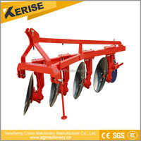 new agricultural machinery small field compact tractor disc harrow/plough