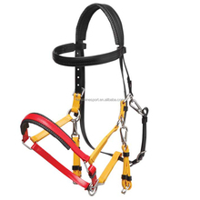 Hot sale PVC horse bridle and rein with rustproof alloy buckles