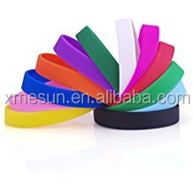 High quality resonable price of silicone bands, Silicone rubber band for children and adult