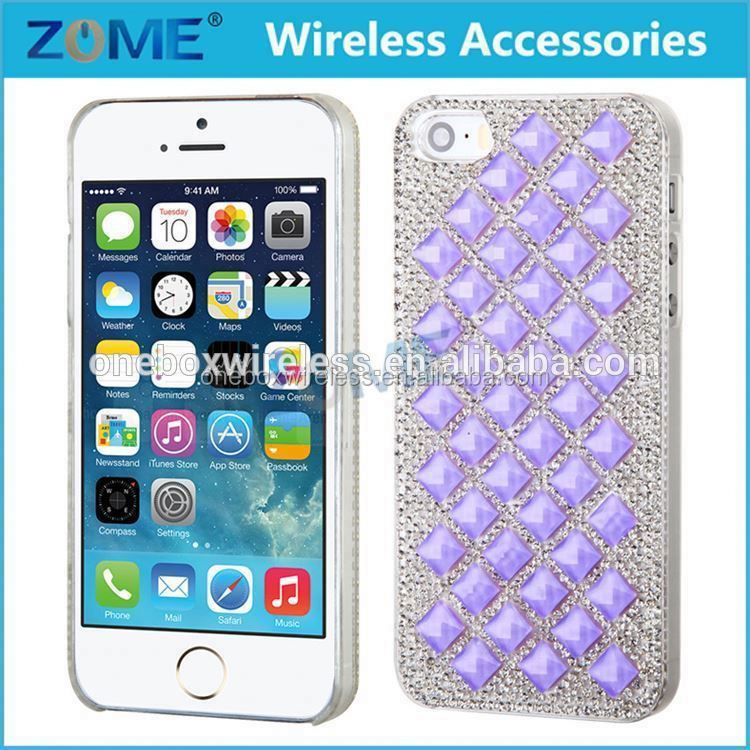 Hot Sale Phone Case, Fashion Luxury Bonzer Bling Crystal Diamond Rhinestone Case Cover Skin For IPhone 5